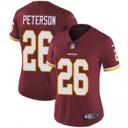 Wholesale Cheap Nike Redskins #26 Adrian Peterson Burgundy Red Team Color Women's Stitched NFL Vapor Untouchable Limited Jersey