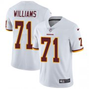 Wholesale Cheap Nike Redskins #71 Trent Williams White Youth Stitched NFL Vapor Untouchable Limited Jersey