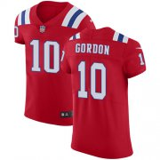 Wholesale Cheap Nike Patriots #10 Josh Gordon Red Alternate Men's Stitched NFL Vapor Untouchable Elite Jersey