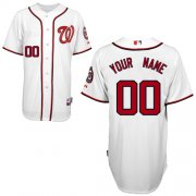 Wholesale Cheap Nationals Authentic White 2011 Cool Base MLB Jersey (S-3XL)