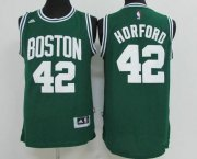 Wholesale Cheap Men's Boston Celtics #42 Al Horford Green Revolution 30 Swingman Stitched Basketball Jersey