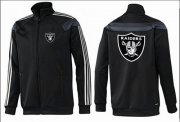 Wholesale Cheap NFL Las Vegas Raiders Team Logo Jacket Black_3