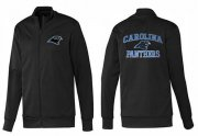 Wholesale NFL Carolina Panthers Heart Jacket Black_2