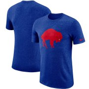 Wholesale Cheap Buffalo Bills Nike Marled Historic Logo Performance T-Shirt Heathered Royal