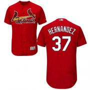 Wholesale Cheap Cardinals #37 Keith Hernandez Red Flexbase Authentic Collection Stitched MLB Jersey