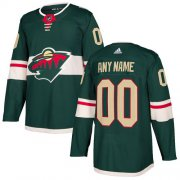 Wholesale Cheap Men's Adidas Wild Personalized Authentic Green Home NHL Jersey