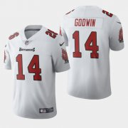 Wholesale Cheap Tampa Bay Buccaneers #14 Chris Godwin White Men's Nike 2020 Vapor Limited NFL Jersey
