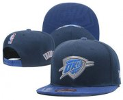 Wholesale Cheap Oklahoma City Thunder Snapback Ajustable Cap Hat 2