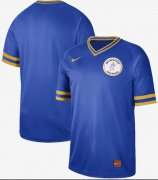 Wholesale Cheap Nike Brewers Blank Royal Authentic Cooperstown Collection Stitched MLB Jersey