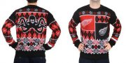 Wholesale Cheap Detroit Red Wings Men's NHL Ugly Sweater-2