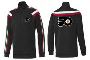 Wholesale Cheap NHL Philadelphia Flyers Zip Jackets Black-1