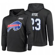 Wholesale Cheap Buffalo Bills #23 Micah Hyde Nike NFL 100 Primary Logo Circuit Name & Number Pullover Hoodie Charcoal