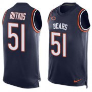 Wholesale Cheap Nike Bears #51 Dick Butkus Navy Blue Team Color Men's Stitched NFL Limited Tank Top Jersey