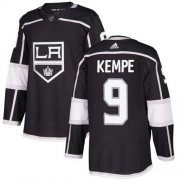 Wholesale Cheap Adidas Kings #9 Adrian Kempe Black Home Authentic Stitched Youth NHL Jersey