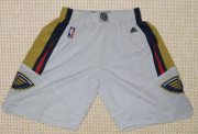 Wholesale Cheap Men's New Orleans Pelicans White Basketball Shorts