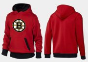 Wholesale Cheap Boston Bruins Pullover Hoodie Red & Black