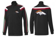 Wholesale Cheap NFL Denver Broncos Team Logo Jacket Black_2