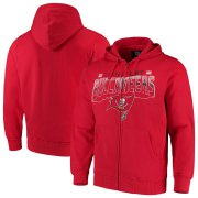 Wholesale Cheap Tampa Bay Buccaneers G-III Sports by Carl Banks Perfect Season Full-Zip Hoodie Red