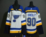 Wholesale Cheap Youth St. Louis Blues #90 Ryan O'Reilly White Adidas Stitched NHL Jersey