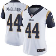 Wholesale Cheap Nike Rams #44 Jacob McQuaide White Women's Stitched NFL Vapor Untouchable Limited Jersey