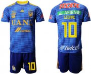Wholesale Cheap Tigres #10 Gignac Away Soccer Club Jersey