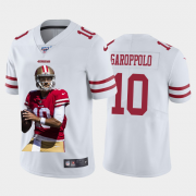 Cheap San Francisco 49ers #10 Jimmy Garoppolo Nike Team Hero Vapor Limited NFL 100 Jersey White