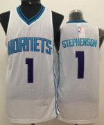 Wholesale Cheap Charlotte Hornets #1 Lance Stephenson White Swingman Jersey