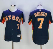 Wholesale Cheap Astros #7 Craig Biggio Navy Blue Flexbase Authentic Collection Stitched MLB Jersey