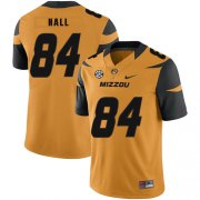 Wholesale Cheap Missouri Tigers 84 Emanuel Hall Gold Nike College Football Jersey