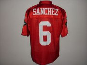 Wholesale Cheap Jets #6 Mark Sanchez Red QB Practice Stitched NFL Jersey