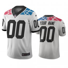 Wholesale Cheap Carolina Panthers Custom White Vapor Limited City Edition NFL Jersey