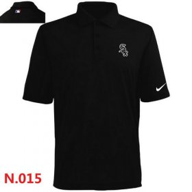 Wholesale Cheap Nike Chicago White Sox 2014 Players Performance Polo Black