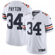 Wholesale Cheap Nike Bears #34 Walter Payton White Men's 2019 Alternate Classic Retired Stitched NFL Vapor Untouchable Limited Jersey