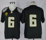 Wholesale Cheap Oregon Ducks #6 Charles Nelson 2013 Black Limited Jersey