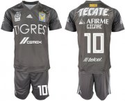 Wholesale Cheap Tigres #10 Gignac Third Soccer Club Jersey