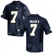 Wholesale Cheap Notre Dame Fighting Irish 7 Will Fuller V Navy College Football Jersey