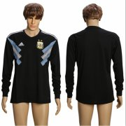 Wholesale Cheap Argentina Blank Away Long Sleeves Soccer Country Jersey