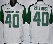 Wholesale Cheap Michigan State Spartans #40 Max Bullough 2013 White Jersey
