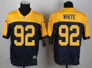 Wholesale Nike Packers #92 Reggie White Navy Blue Alternate Men's Stitched NFL New Elite Jersey