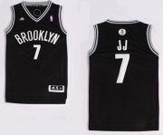 Wholesale Cheap Brooklyn Nets #7 JJ Nickname Revolution 30 Swingman Black Jersey