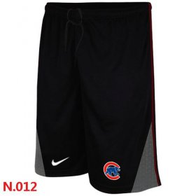 Wholesale Cheap Nike MLB Chicago Cubs Performance Training Shorts Black