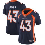 Wholesale Cheap Nike Broncos #43 Joe Jones Navy Blue Alternate Women's Stitched NFL Vapor Untouchable Limited Jersey