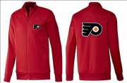 Wholesale Cheap NHL Philadelphia Flyers Zip Jackets Red