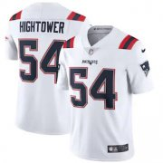 Wholesale Cheap New England Patriots #54 Dont'a Hightower Men's Nike White 2020 Vapor Limited Jersey
