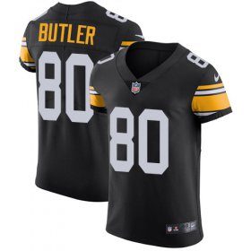 Wholesale Cheap Nike Steelers #80 Jack Butler Black Alternate Men\'s Stitched NFL Vapor Untouchable Elite Jersey
