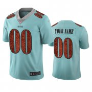 Wholesale Cheap Seattle Seahawks Custom Light Blue Vapor Limited City Edition NFL Jersey