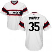 Wholesale Cheap White Sox #35 Frank Thomas White Alternate Home Cool Base Stitched Youth MLB Jersey