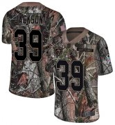 Wholesale Cheap Nike Bears #39 Eddie Jackson Camo Youth Stitched NFL Limited Rush Realtree Jersey