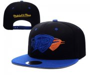 Wholesale Cheap NBA Oklahoma City Thunder Snapback Ajustable Cap Hat XDF 020