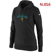 Wholesale Cheap Women's Nike Jacksonville Jaguars Heart & Soul Pullover Hoodie Black